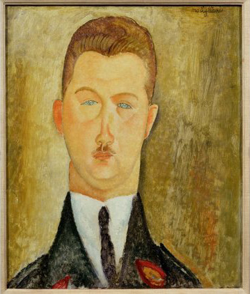 Modigliani, Dr François Brabander 1918 Courtesy Estorick Collection