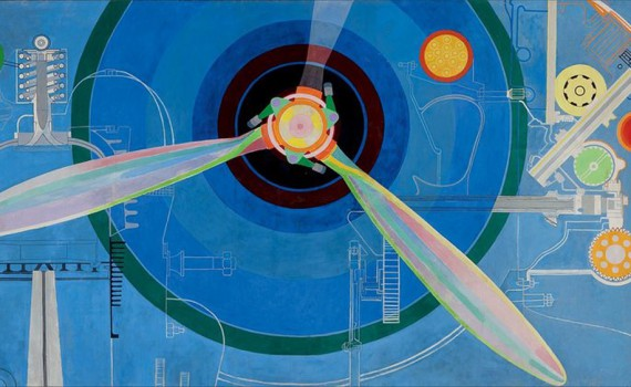 "Sonia Delaunay ""Propeller (Air Pavilion), 1937 Pracusa 2014083 Photo Emma Krantz"