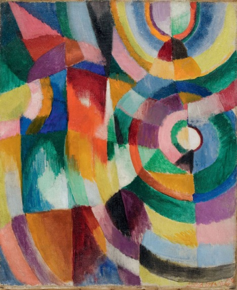 Sonia Delaunay Electric Prisms 1913 Davis Museum at Wellesley College, Wellesley, MA, Gift of Mr. Theodore Racoosin© Pracusa 2014083