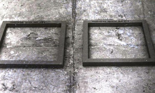 Two Frames - Cardiff College of Art, 1971