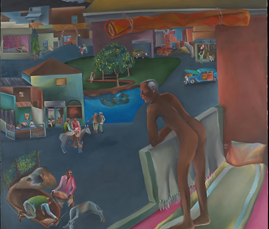 Bhupen Khakhar  You Can't Please All, 1981, © the estate of Bhupen Khakhar