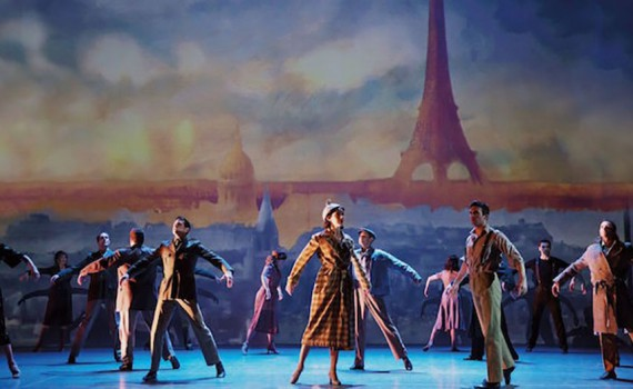 Coming to London s Dominion Theatre An American In Paris original Broadway cast photo by Matthew Murphy